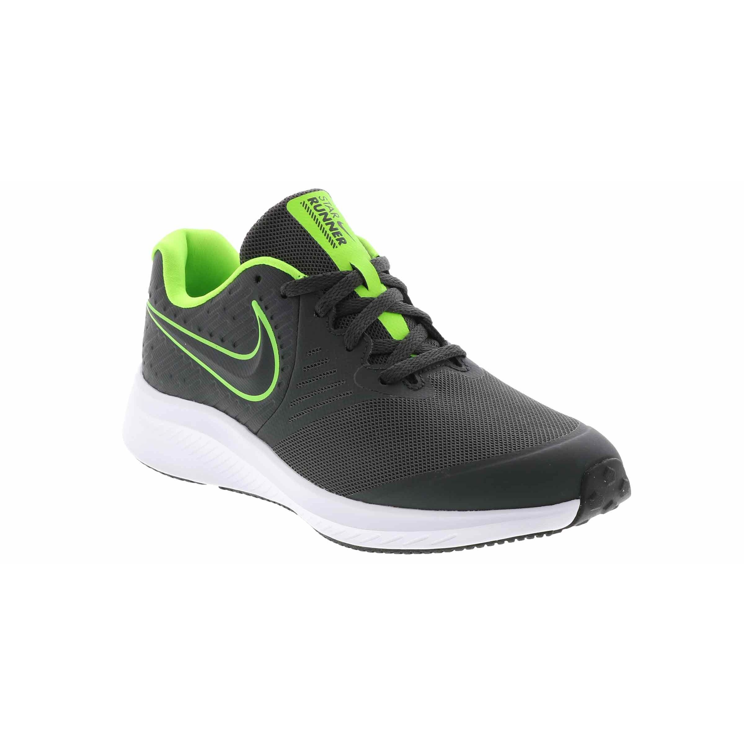 Details zu Nike Scarpe Star Runner 2 (GS), Junior Art. AQ3542 004 (AnthraciteElectric Gr