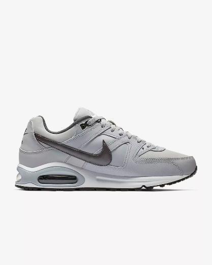 Dettagli su Nike Scarpe Air Max Command, uomo Art. 749760 012 (Wolf GreyNeroBiancoMetal