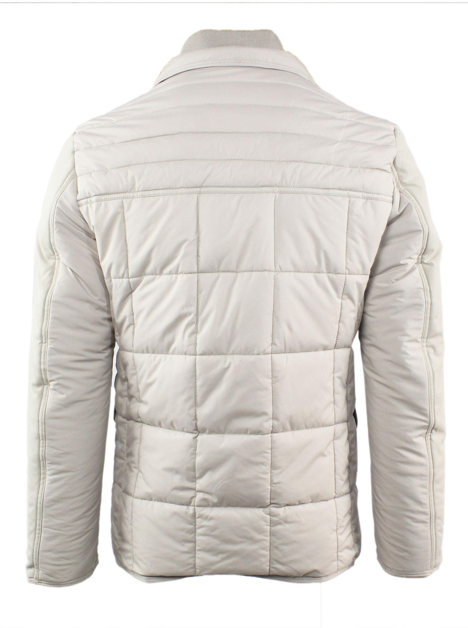 Giubbotto-Uomo-Invernale-Slim-Fit-Blu-Nero-Giacca-Elegante-Trapuntata-Cappotto miniatura 18
