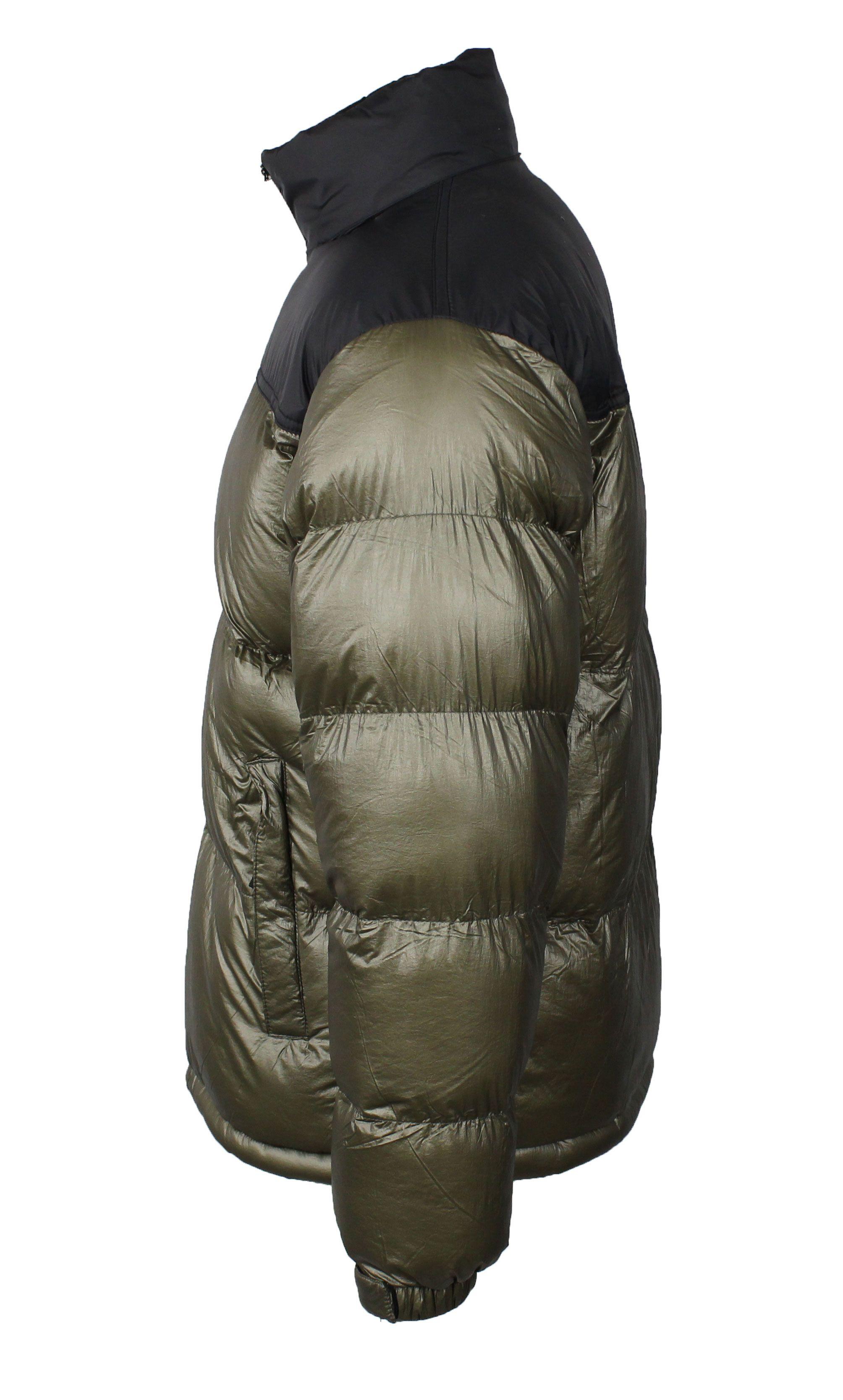Giubbotto-Uomo-Invernale-Giubbino-Imbottito-Giacca-Piumino-Bomber-Blu-Oro-Argent miniatura 12