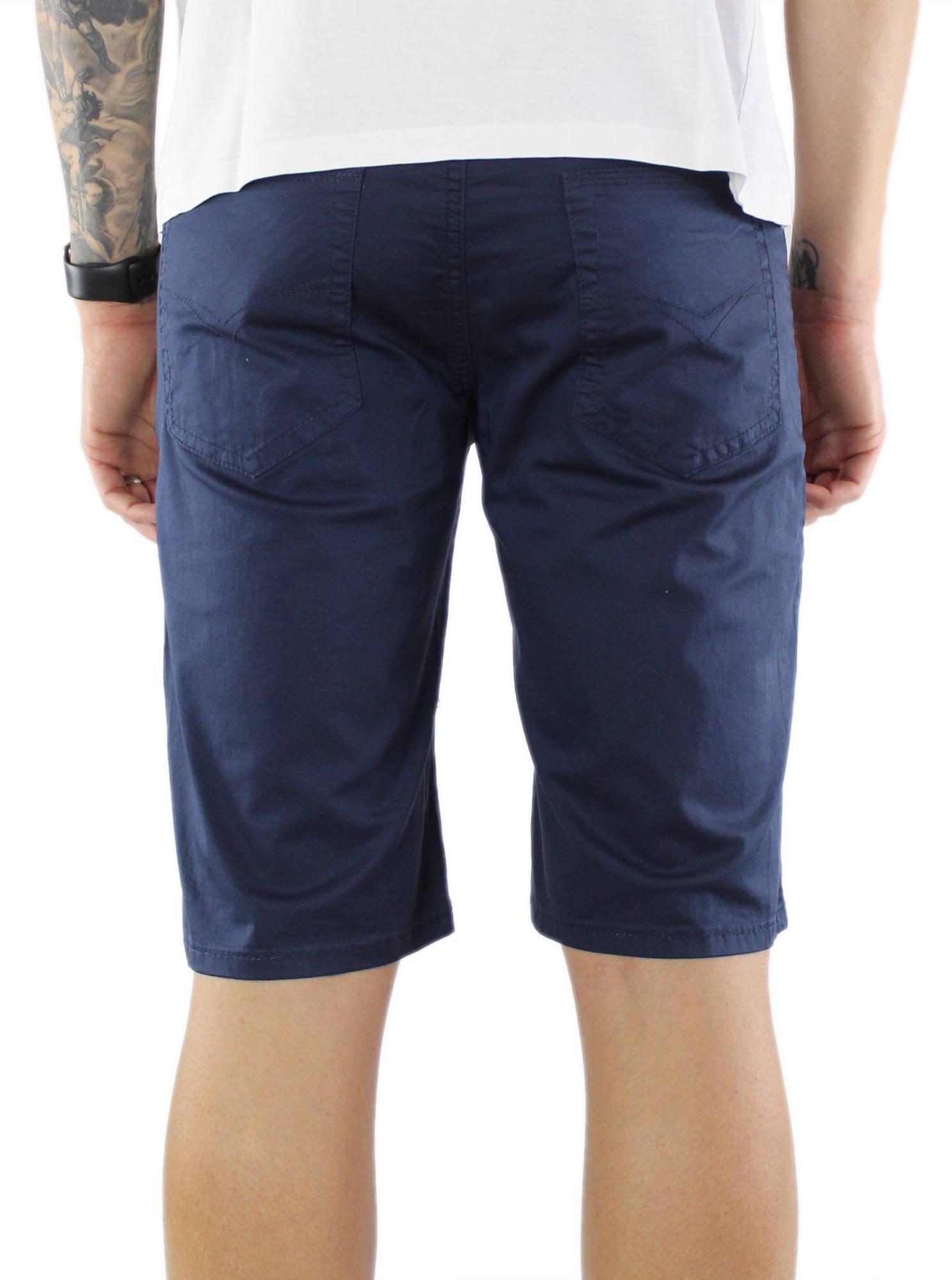 Bermuda-Uomo-Cotone-Slim-Fit-Pantalone-Corto-Shorts-Pantaloncini-Casual miniatuur 13