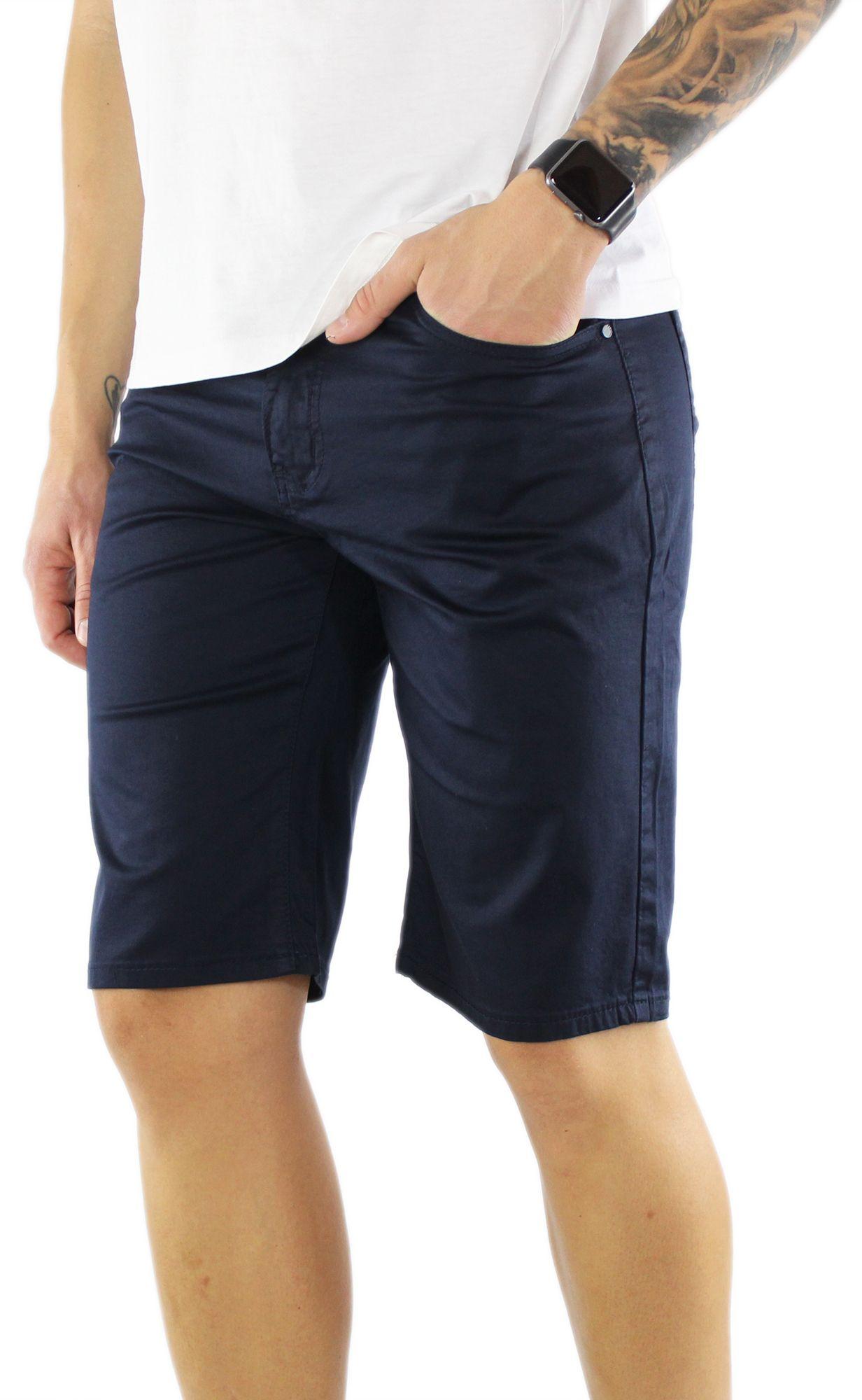 Bermuda-Uomo-Cotone-Slim-Fit-Pantalone-Corto-Shorts-Pantaloncini-Casual miniatuur 9