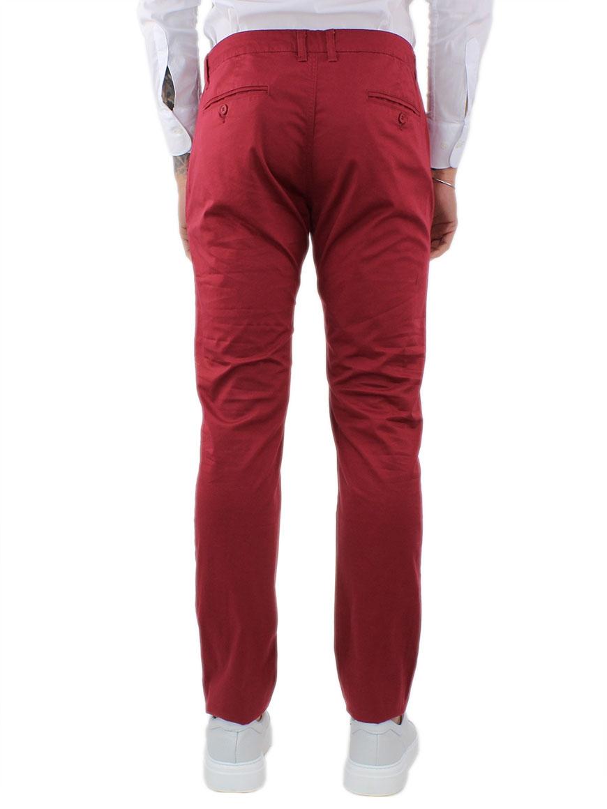 miniature 36 - Pantaloni Uomo Slim Fit Eleganti Primaverili Cotone Pantalone Chino Elasticizzat