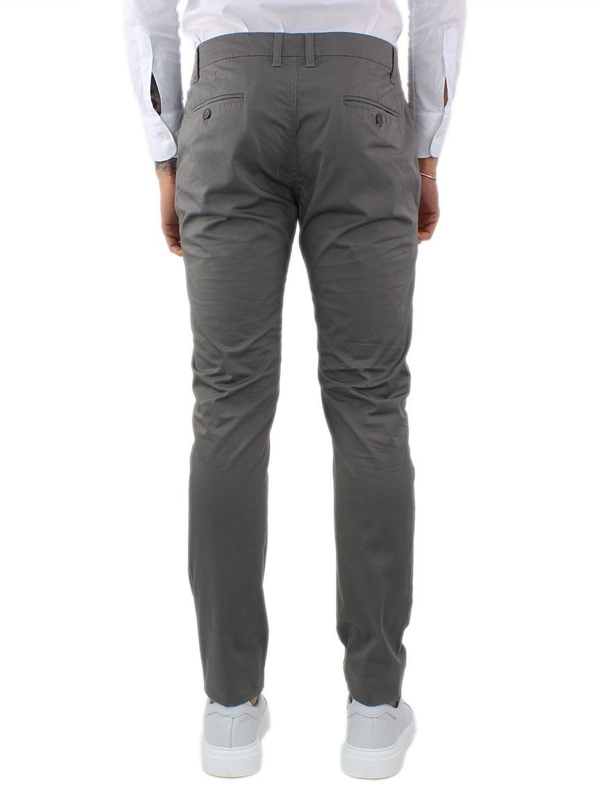 miniature 6 - Pantaloni Uomo Slim Fit Eleganti Primaverili Cotone Pantalone Chino Elasticizzat