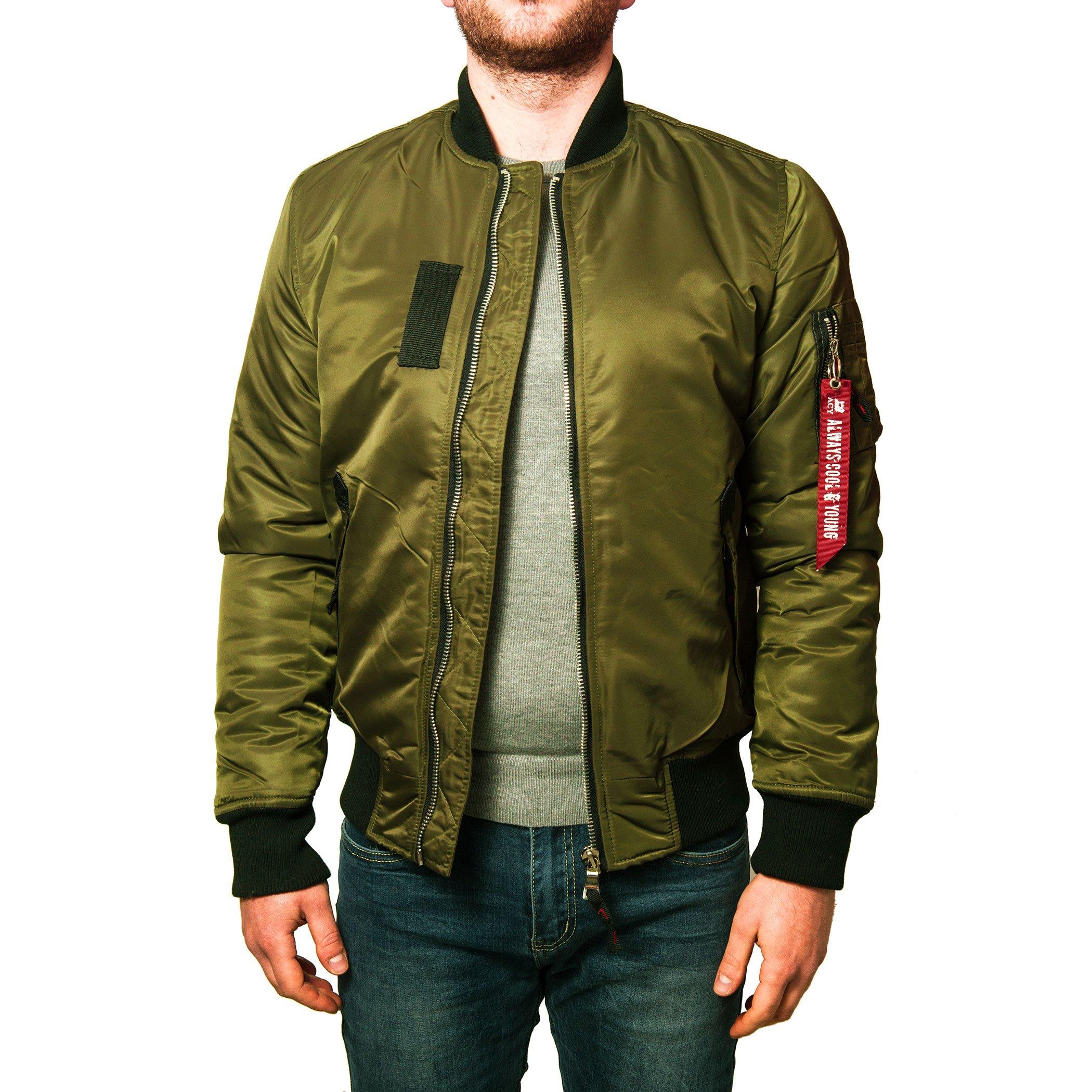 giacca verde militare