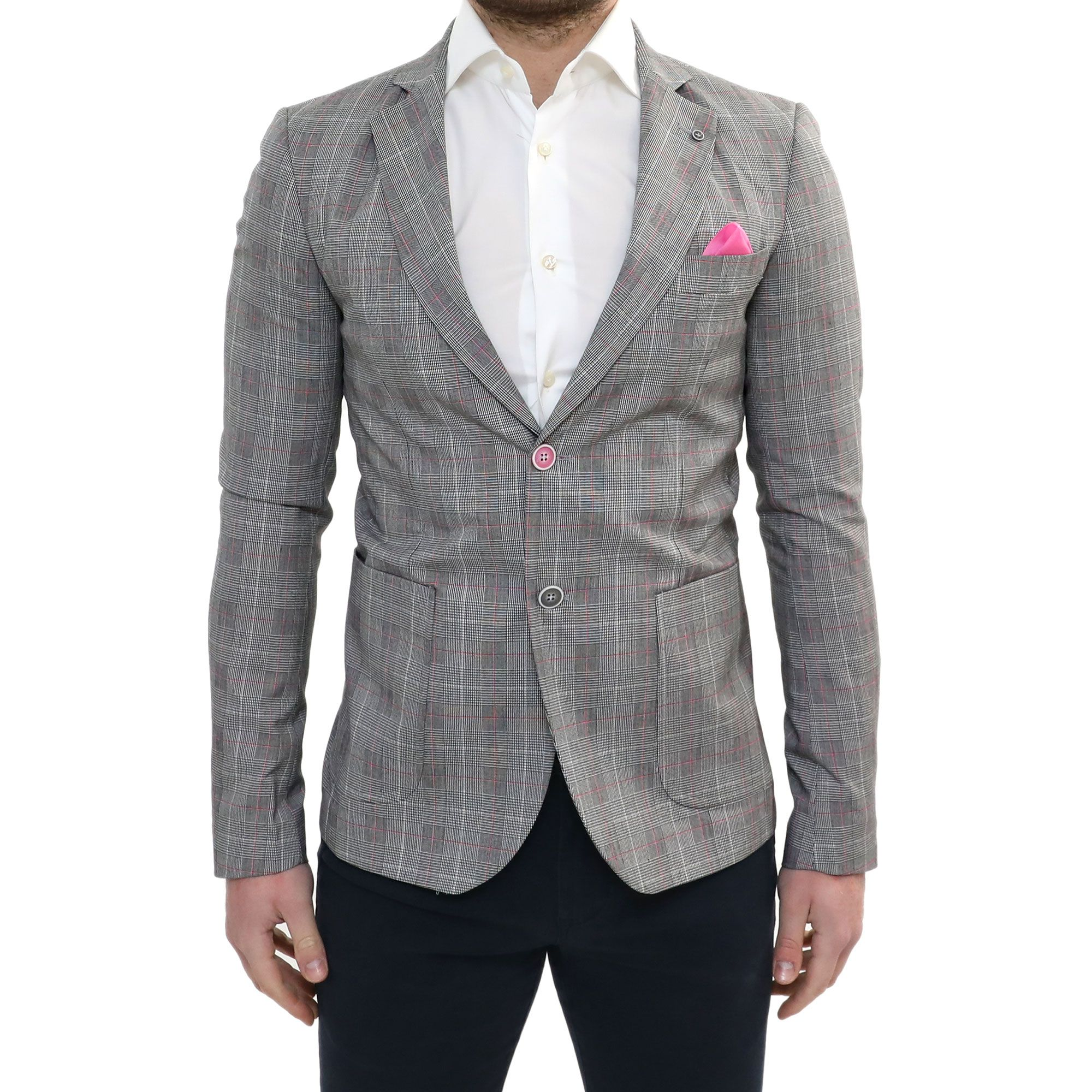 Giacca Uomo Sartoriale Bordeaux Slim Fit casual elegante