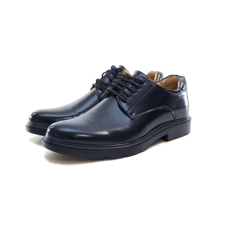Scarpe-Uomo-Eleganti-Francesine-Nere-Blu-Cerimonia-Lucide-Classiche-Oxford-Ingle miniatura 12