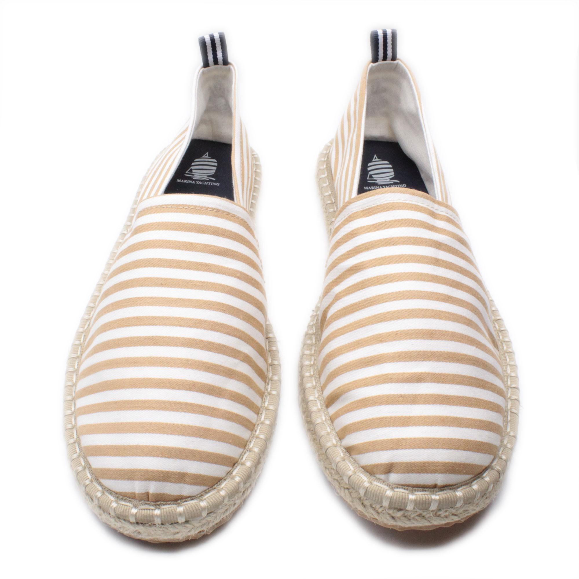 Espadrillas-Uomo-Marina-Yachting-Scarpe-da-Spiaggia-Estive-a-Righe-Made-in-Italy miniatura 10
