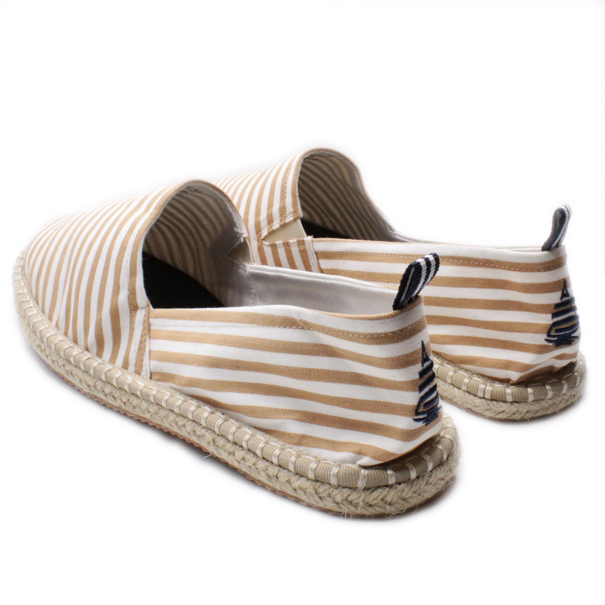 Espadrillas-Uomo-Marina-Yachting-Scarpe-da-Spiaggia-Estive-a-Righe-Made-in-Italy miniatura 12