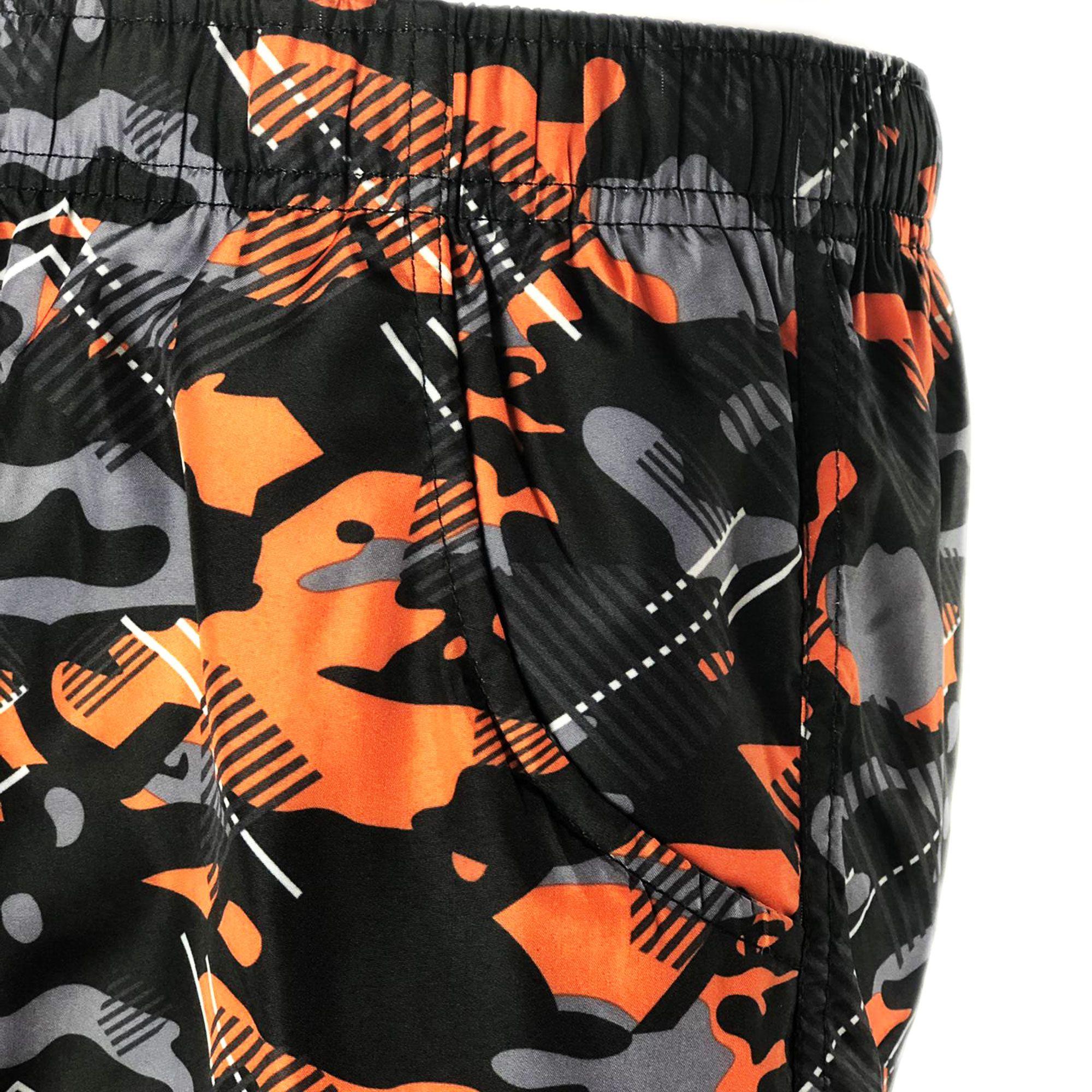 Costume-da-Bagno-Uomo-Boxer-Camouflage-Pantaloncini-Bermuda-Shorts-Mare-Mimetico miniatura 8