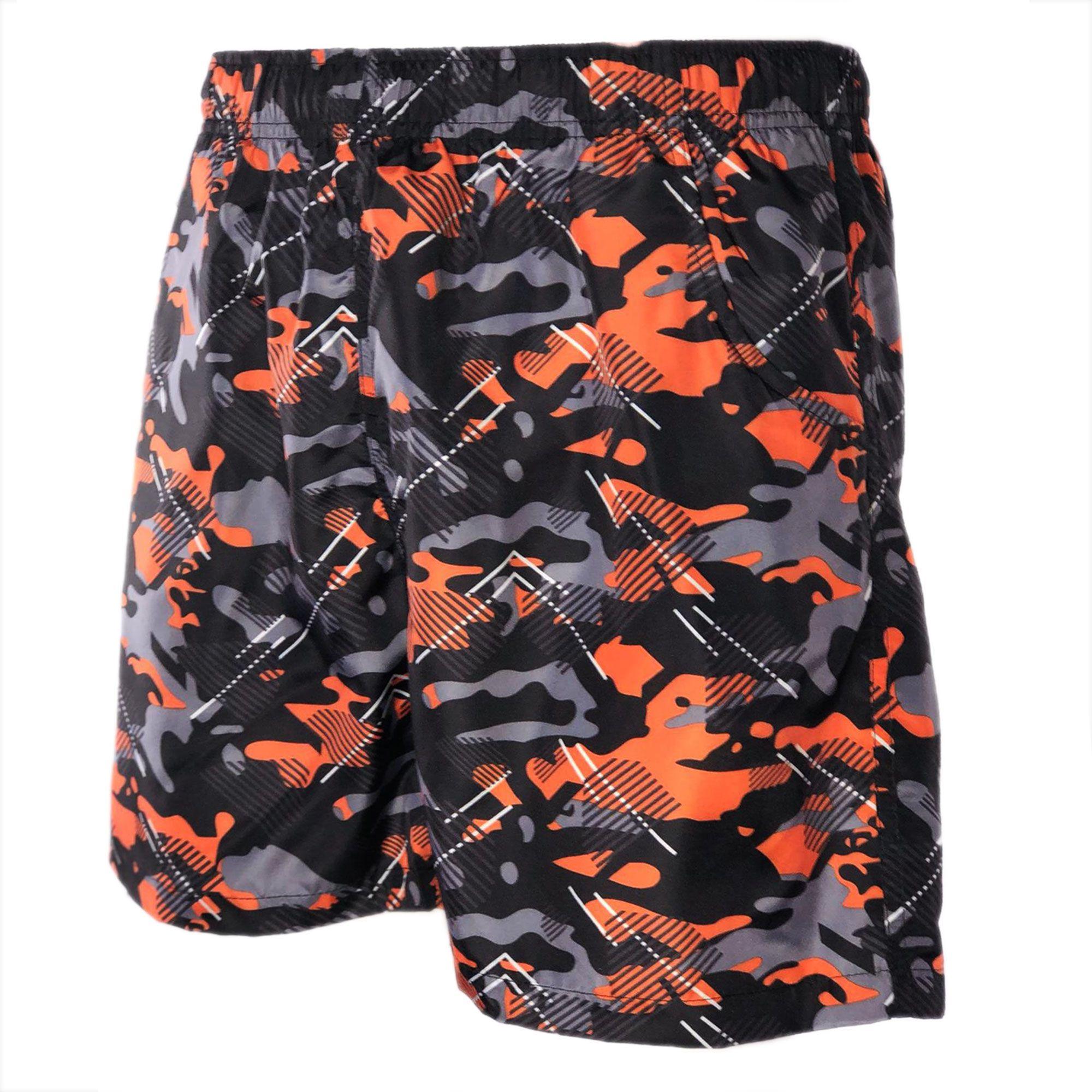 Costume-da-Bagno-Uomo-Boxer-Camouflage-Pantaloncini-Bermuda-Shorts-Mare-Mimetico miniatura 9