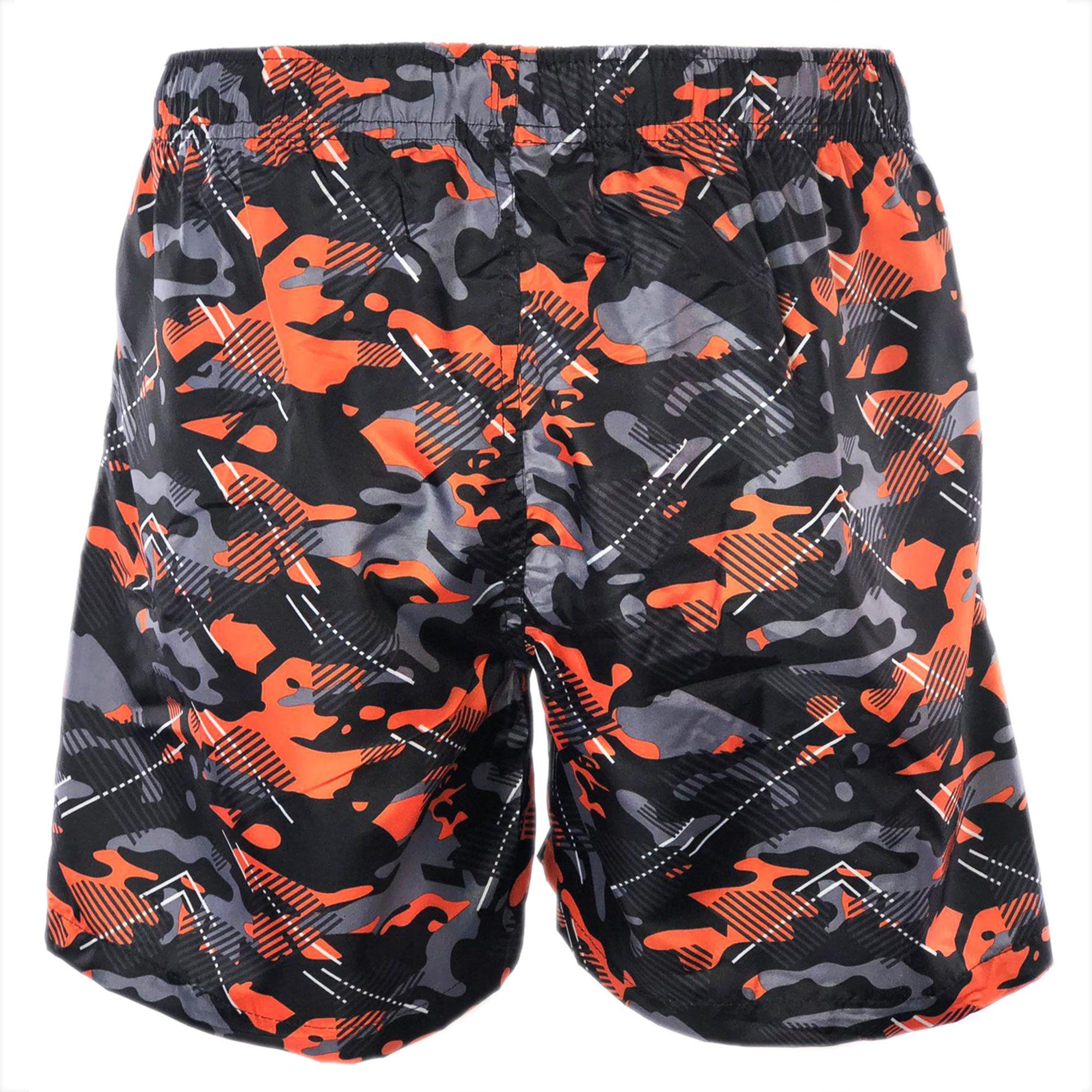 Costume-da-Bagno-Uomo-Boxer-Camouflage-Pantaloncini-Bermuda-Shorts-Mare-Mimetico miniatura 10