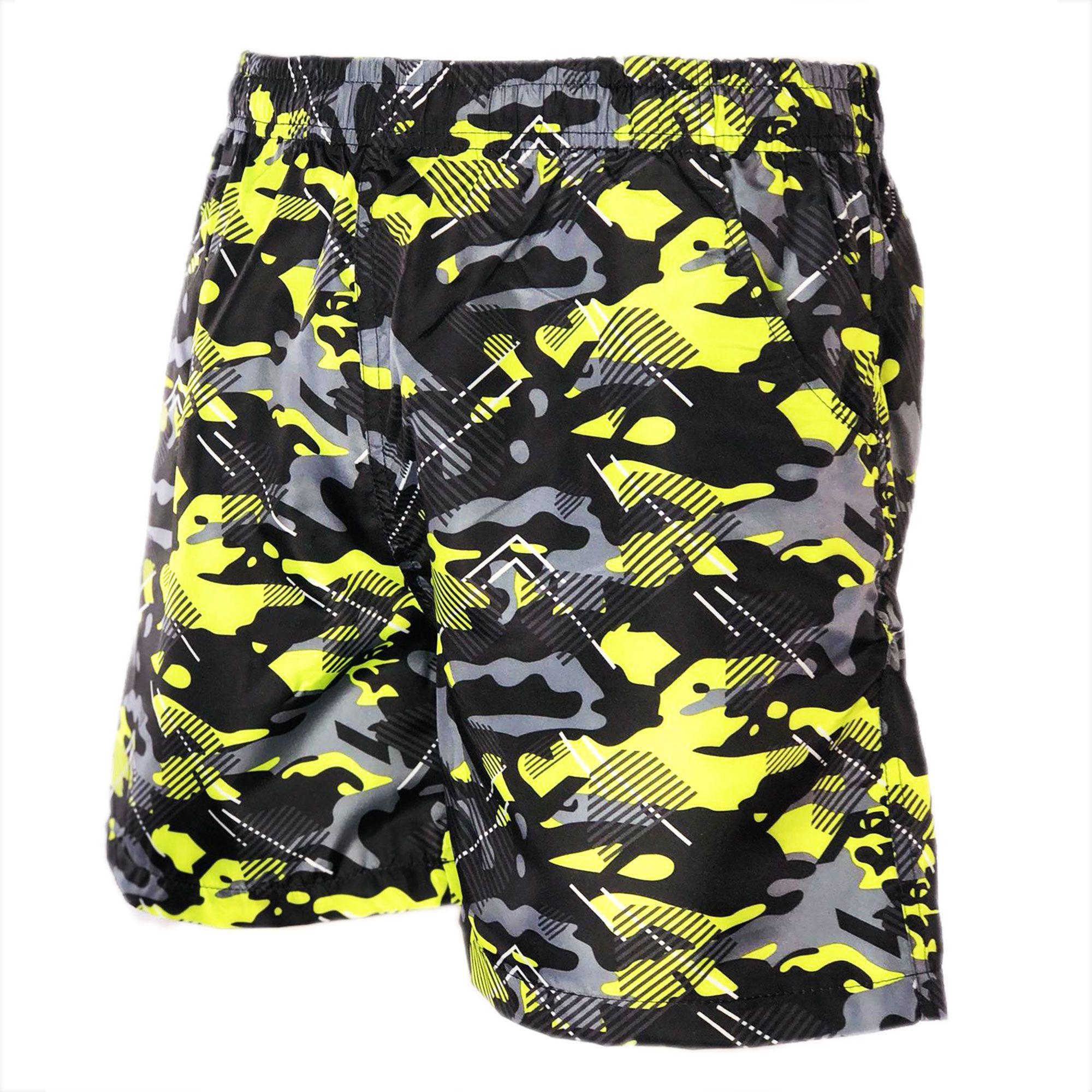Costume-da-Bagno-Uomo-Boxer-Camouflage-Pantaloncini-Bermuda-Shorts-Mare-Mimetico miniatura 5