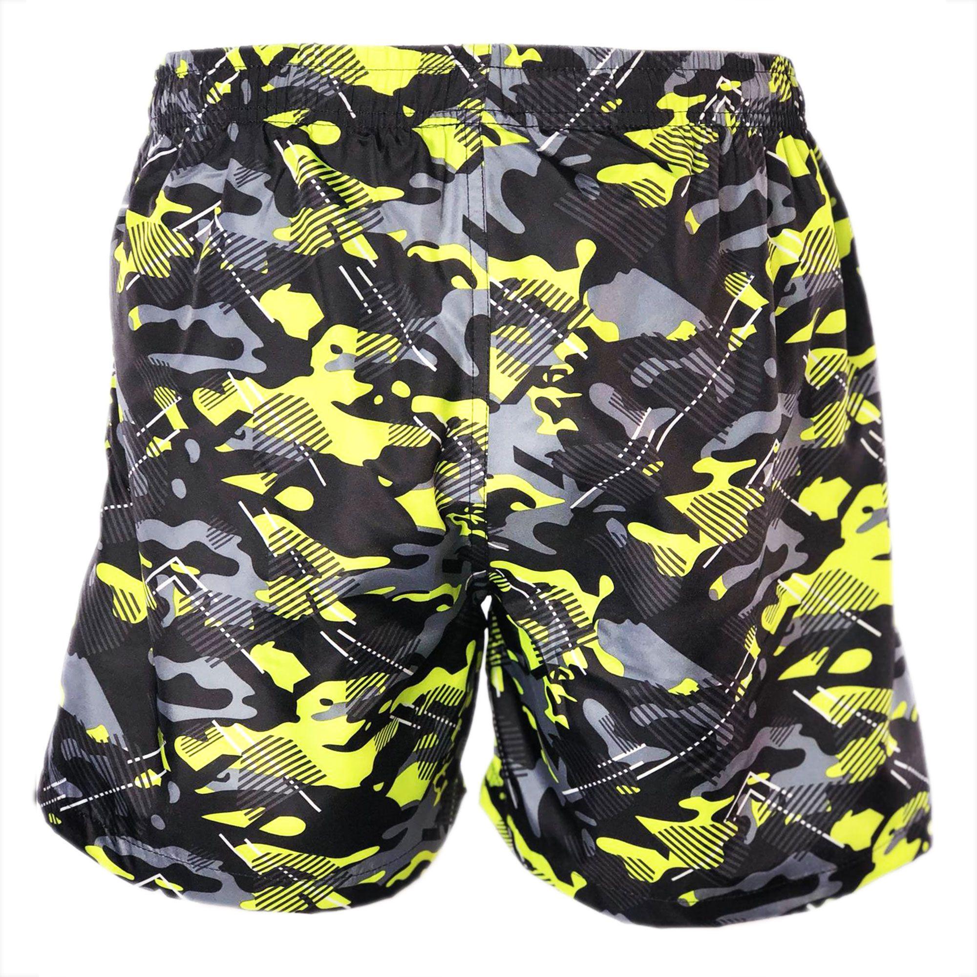 Costume-da-Bagno-Uomo-Boxer-Camouflage-Pantaloncini-Bermuda-Shorts-Mare-Mimetico miniatura 6