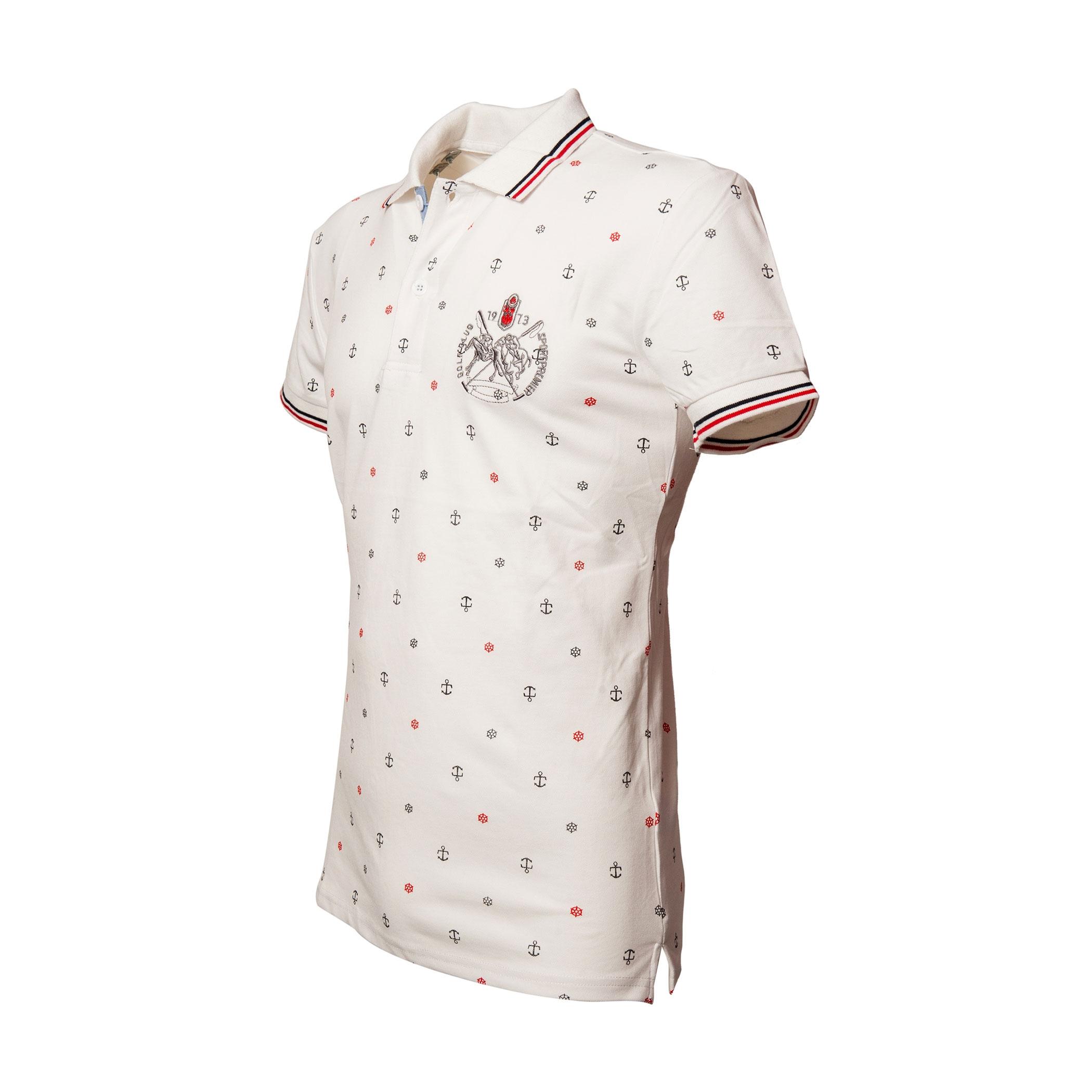 Polo-Uomo-Manica-Corta-Cotone-Casual-Maglietta-Slim-Fit-Maglia-Sportiva-T-shirt miniatura 15