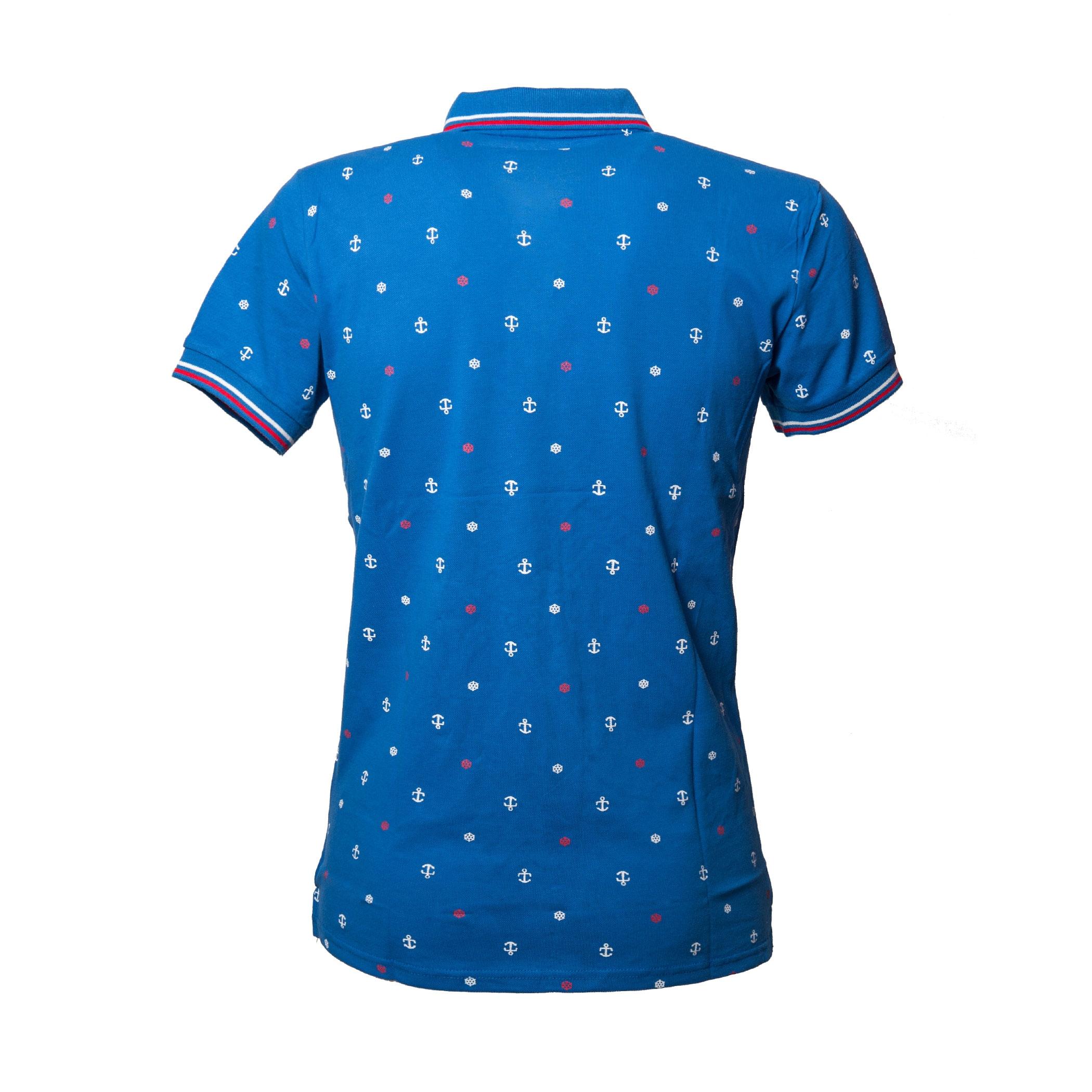 Polo-Uomo-Manica-Corta-Cotone-Casual-Maglietta-Slim-Fit-Maglia-Sportiva-T-shirt miniatura 9