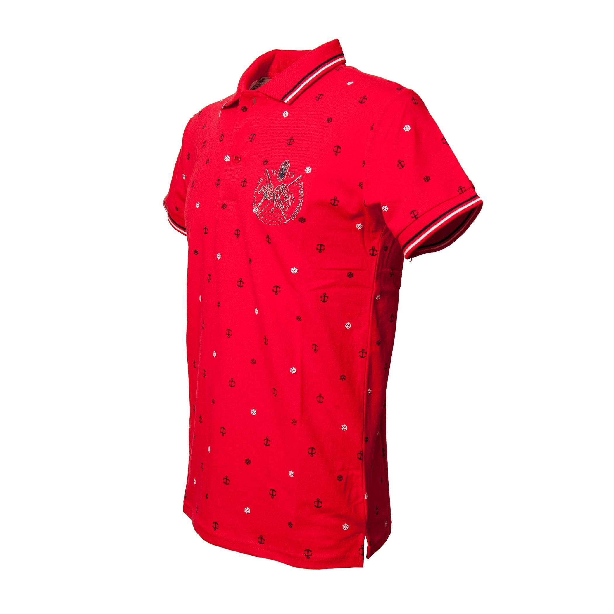 Polo-Uomo-Manica-Corta-Cotone-Casual-Maglietta-Slim-Fit-Maglia-Sportiva-T-shirt miniatura 11