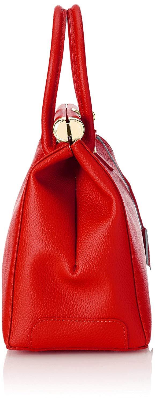 miniatura 25 - Chicca Borse Borsa in vera pelle Made in Italy borsa a mano 35x28x16 8005
