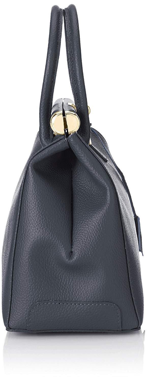 miniatura 37 - Chicca Borse Borsa in vera pelle Made in Italy borsa a mano 35x28x16 8005