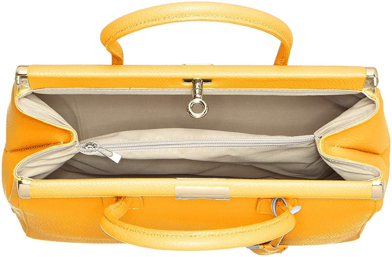miniatura 51 - Chicca Borse Borsa in vera pelle Made in Italy borsa a mano 35x28x16 8005