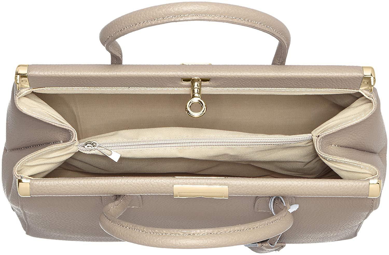miniatura 63 - Chicca Borse Borsa in vera pelle Made in Italy borsa a mano 35x28x16 8005
