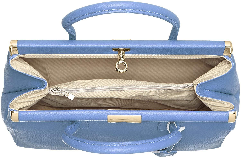 miniatura 69 - Chicca Borse Borsa in vera pelle Made in Italy borsa a mano 35x28x16 8005