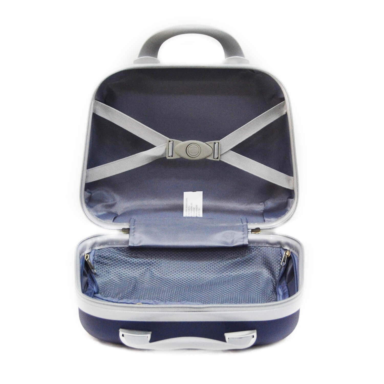 miniatura 4 - Beauty Case per Uomo Donna Rigido da Viaggio Piccolo Grande Nero Blu Grigio Abs