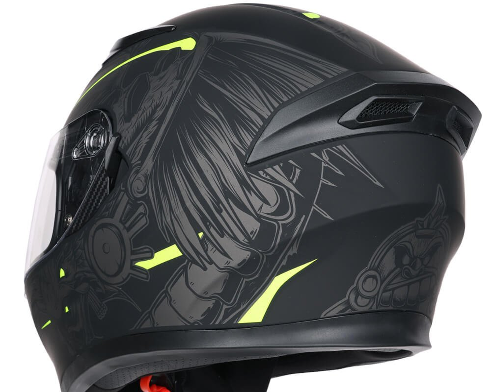 Casco-Integrale-Full-Face-CGM-316S-INDIAN-per-Moto-e-Scooter miniatura 4