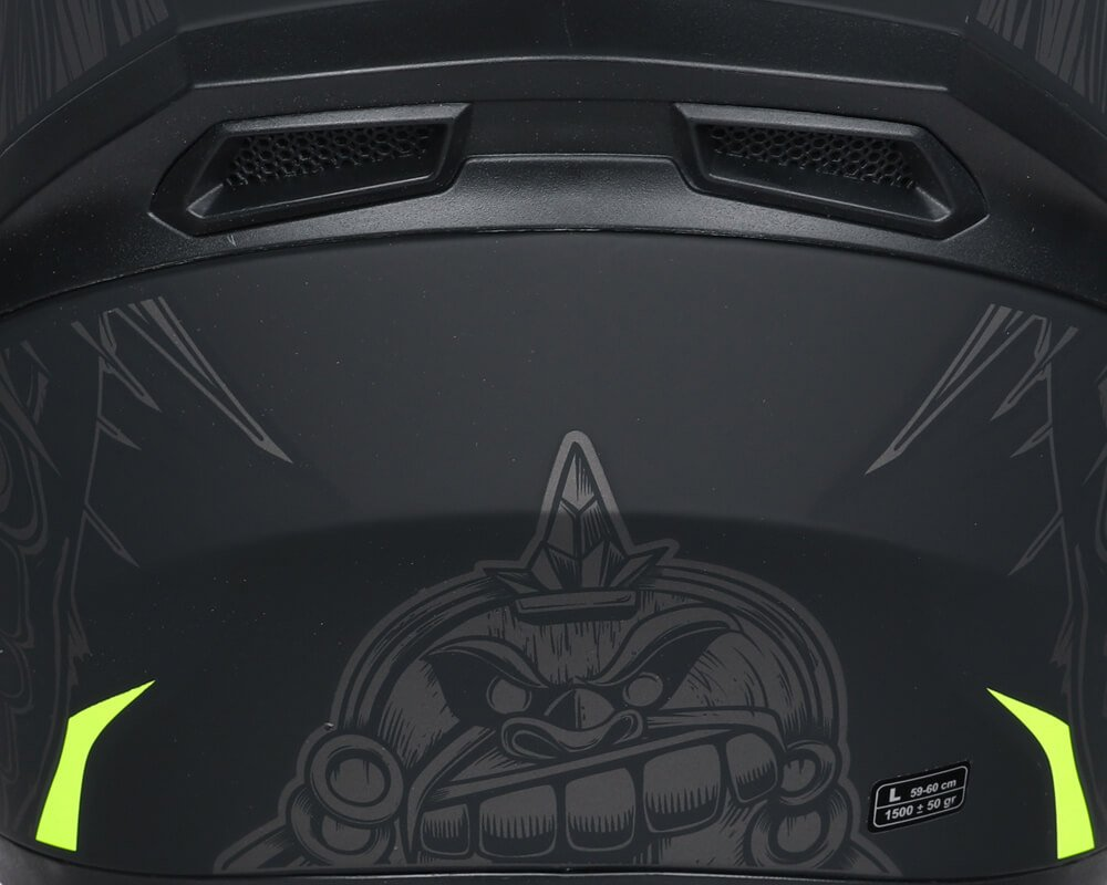 Casco-Integrale-Full-Face-CGM-316S-INDIAN-per-Moto-e-Scooter miniatura 7