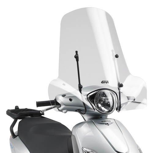 Parabrezza specifico trasparente PIAGGIO Vespa PX 125-150 2010 2011 642A GIVI