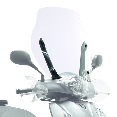 2014 Paravento Trasparente 53 cm x 50 cm GIVI 1128A per per Honda SH ABS 150i