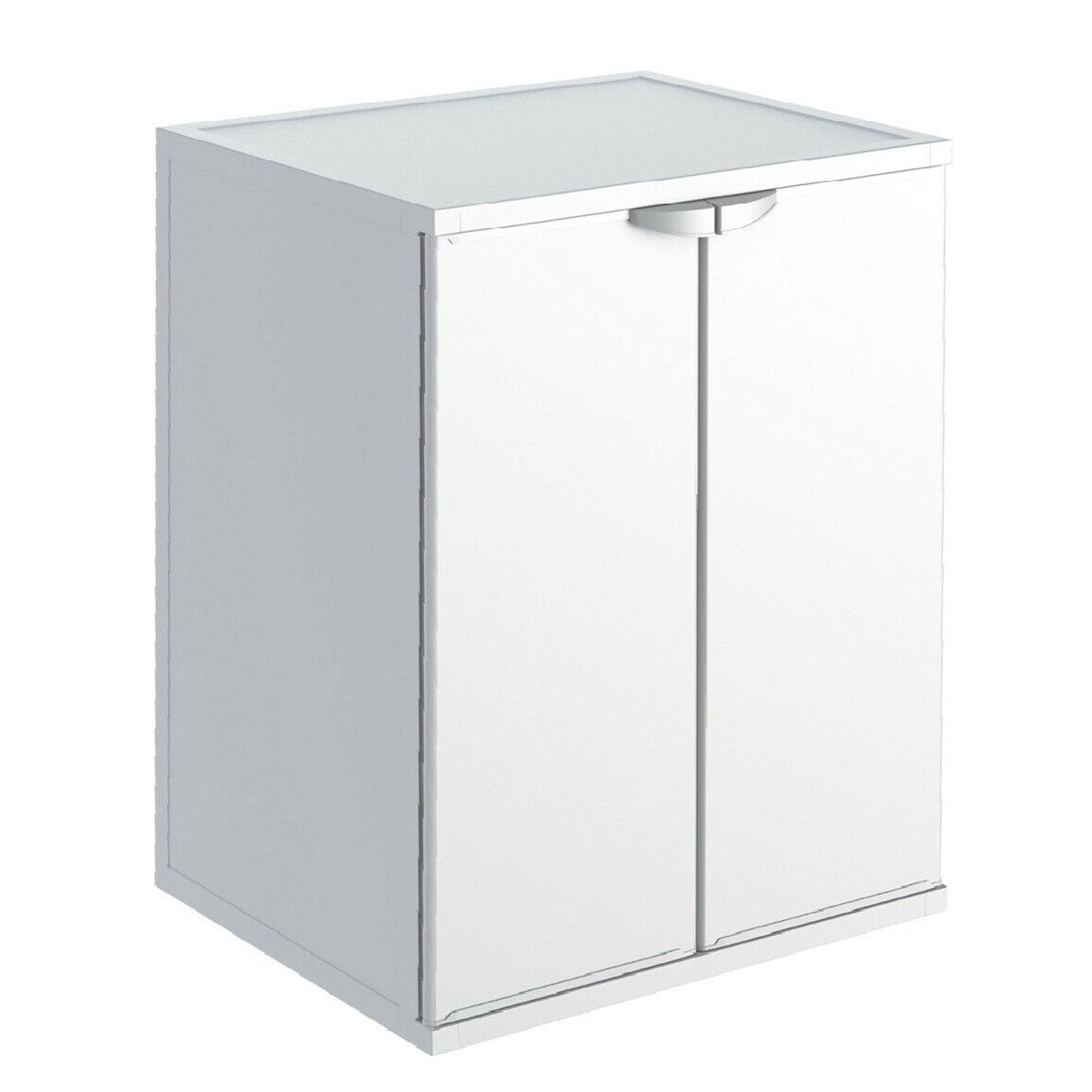 Mobile Per Asciugatrice Esterno dettagli su armadio box mobile coprilavatrice resina copri lavatrice  asciugatrice esterno