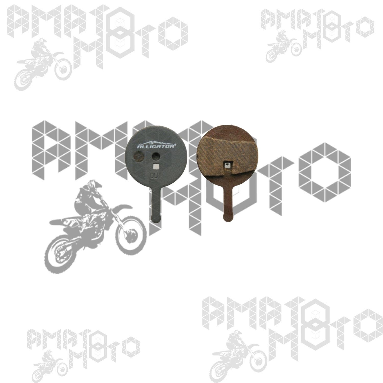 coppia pastiglie avid bb5 meccanico organiche ALLIGATOR freni bici