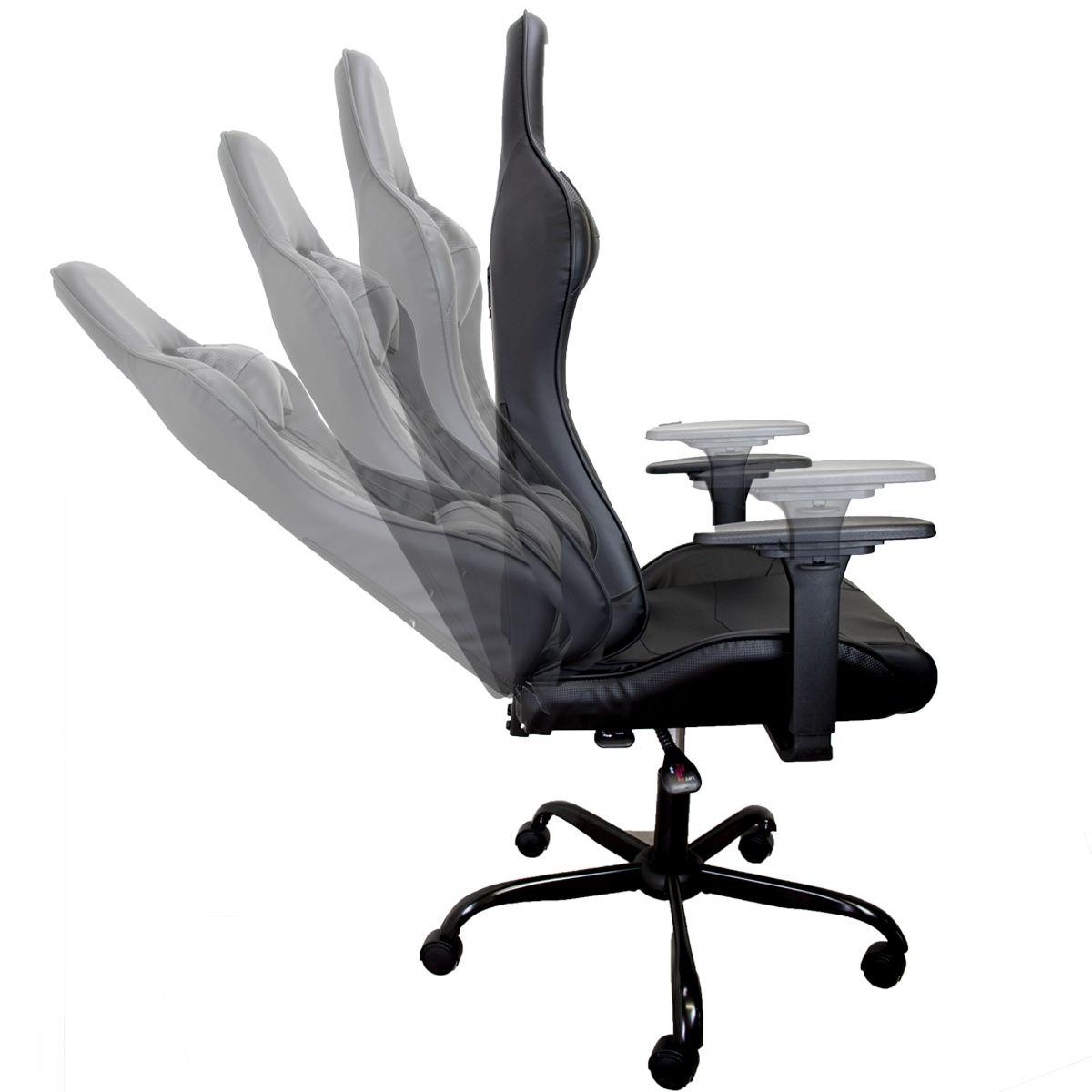 miniatura 7 - Sedia Poltrona da Gaming per Ufficio reclinabile Imbottita ergonomica GTX RTX