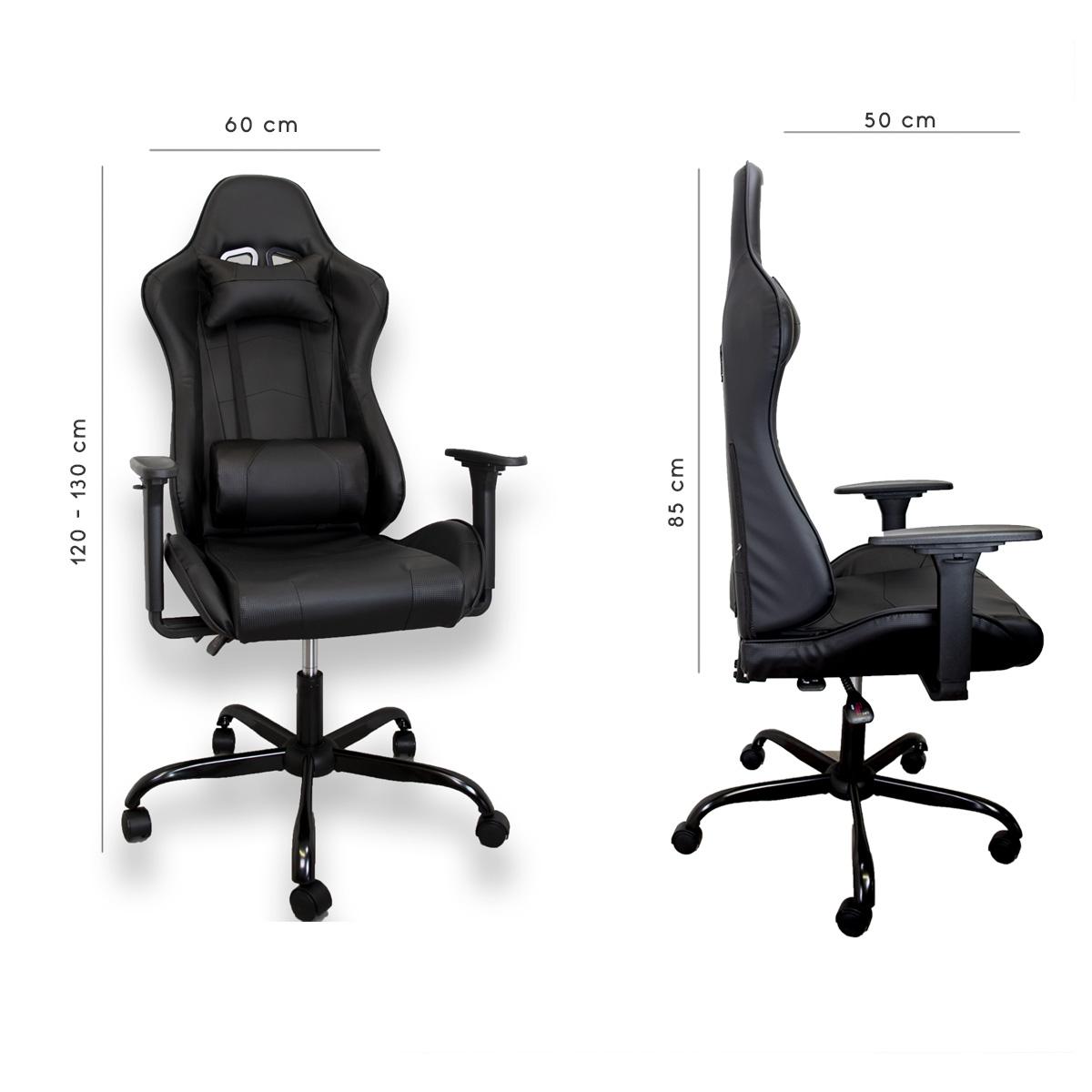miniatura 3 - Sedia Poltrona da Gaming per Ufficio reclinabile Imbottita ergonomica GTX RTX