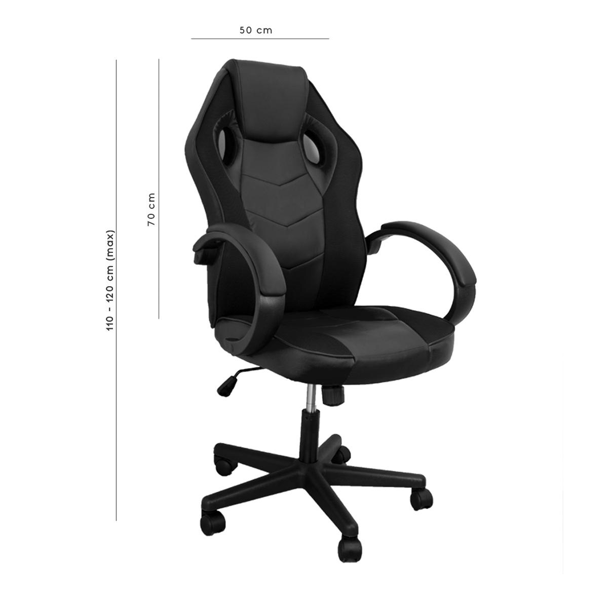 miniatura 4 - Sedia Poltrona da Gaming per Ufficio reclinabile Imbottita ergonomica GTX RTX