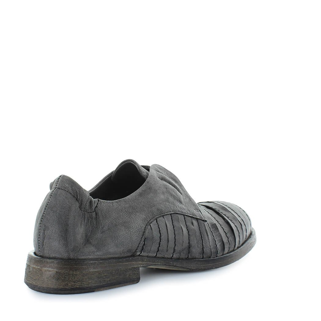 detailed look d29db e399a Dettagli su Scarpe da Donna Derby Slip On Grigio Ixos Primavera Estate 2018