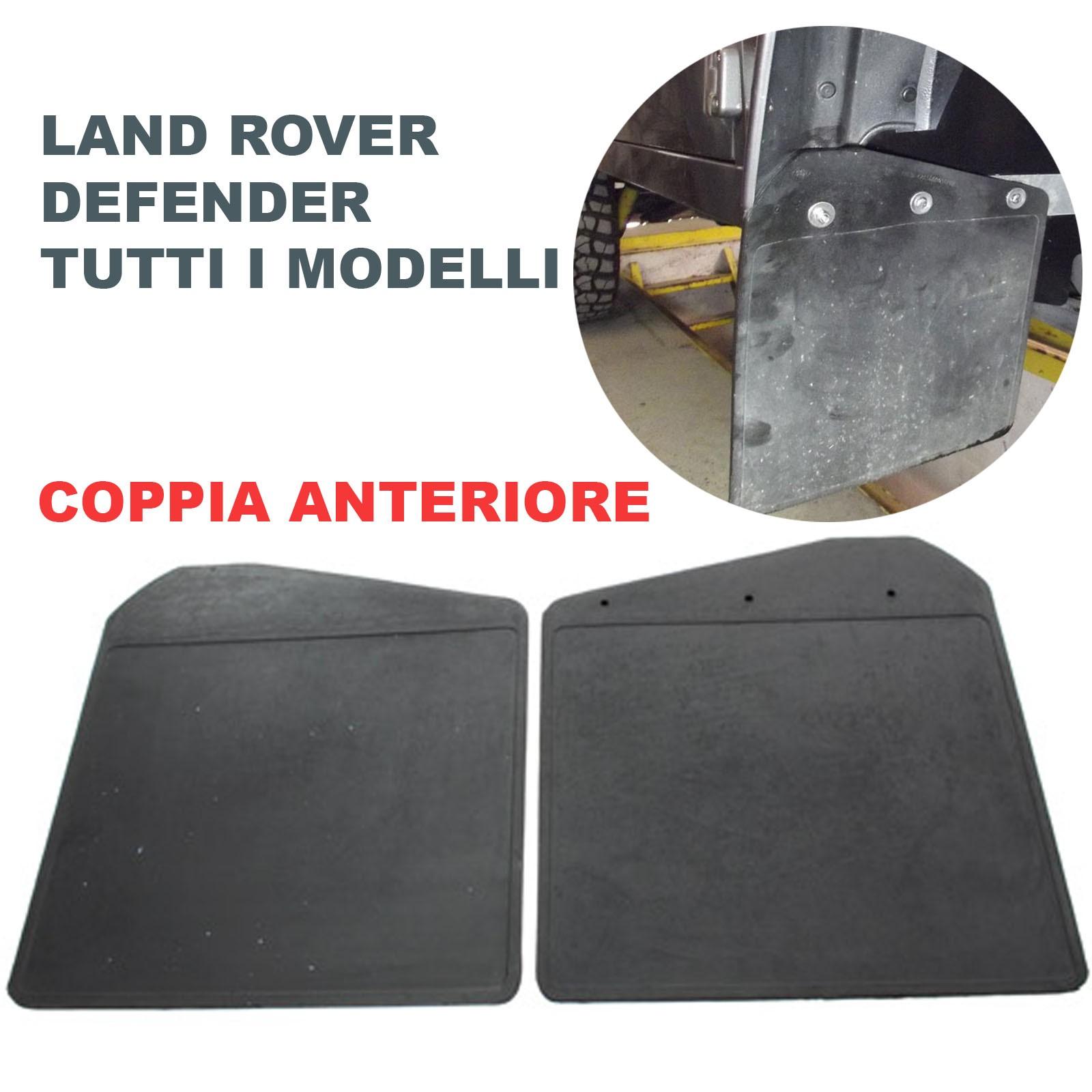 ZQXFZ 4 Pezzi Parafanghi Paraspruzzi for Land Rover Discovery 3 Discovery LR3 Anteriori Posteriori Gomma Fender con LInstallazione di Chiodi A Vite