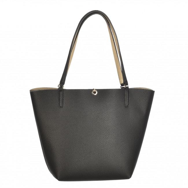 Dettagli su GUESS ALBY VG745523 borsa bag shopper REVERSIBLE + pochette Borsa piccola oro