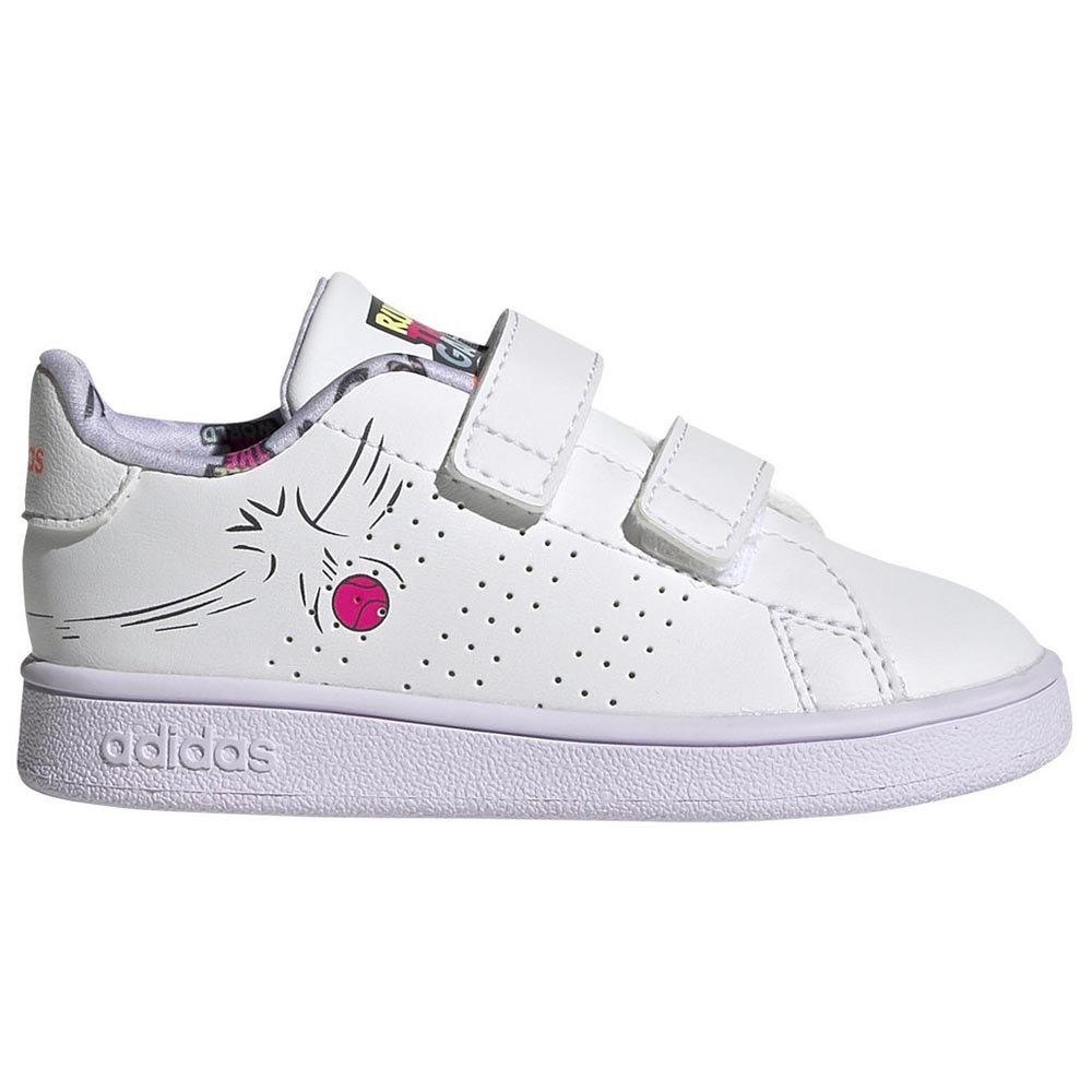 ADIDAS ADVANTAGE INF Sneakers Bimba Strappo Scarpe Bambina