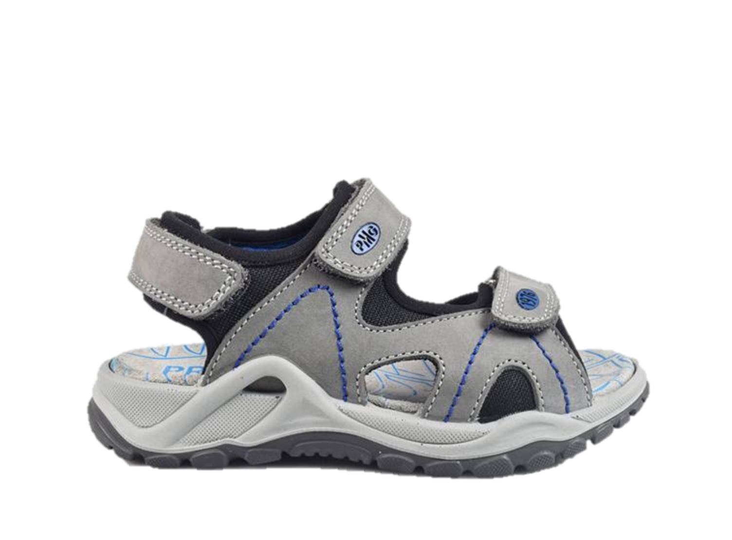 Primigi 3397400 Sandals Child Shoes Gray Leather Tear Made in Italy