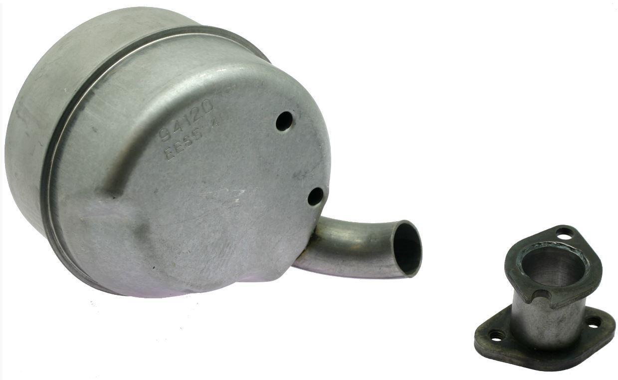 Silenziatore marmitta trattorino rasaerba da 10 a 13 HP BRIGGS /& STRATTON 182002