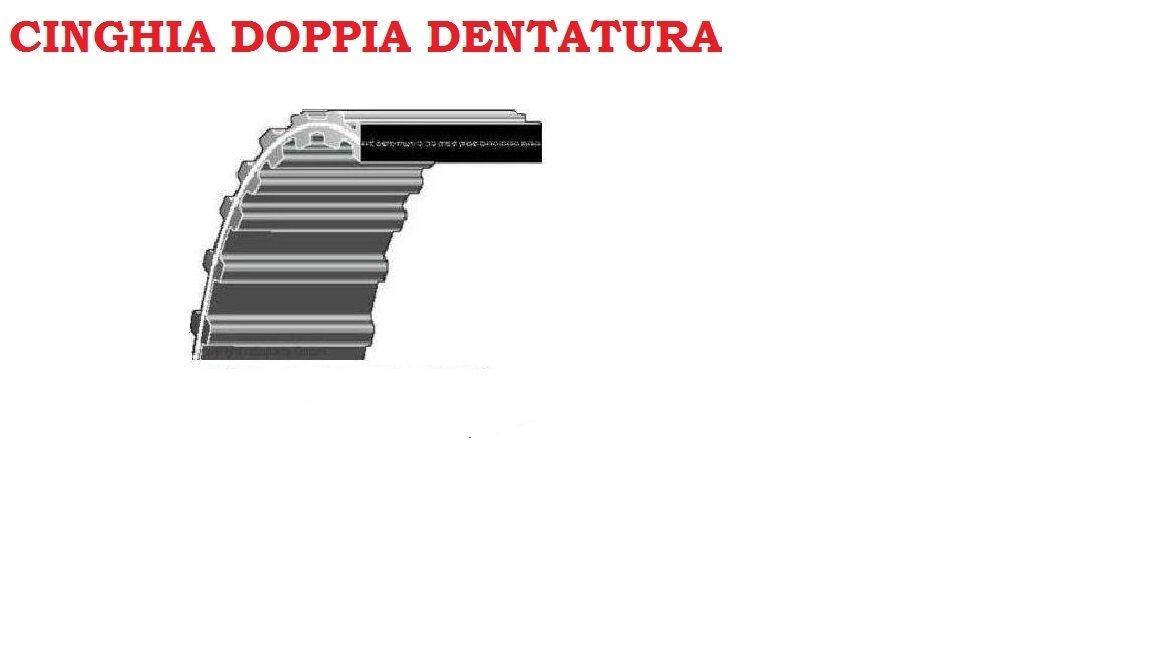 Cinghia doppia dentatura dentata trattorino rasaerba tagliaerba  8-893 ETESIA