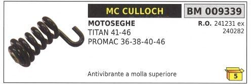 Antivibrante a molla posteriore MC CULLOCH motosega TITAN 41 46 PROMAC 36 009336
